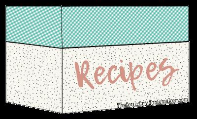 Country Homemaker Recipe Box