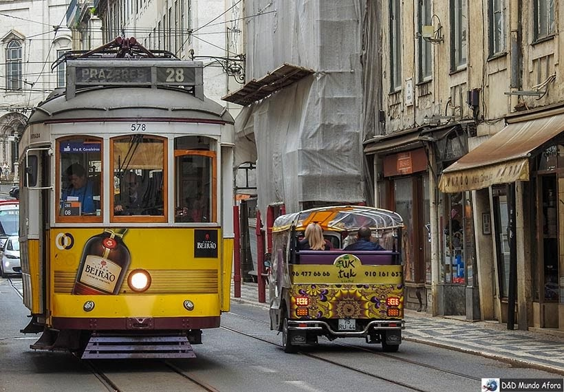 Bondinho 28 está incluso no Lisboa Card: como usar na capital de Portugal