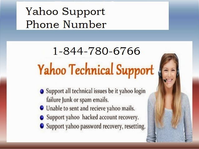 Yahoo Customer Support Phone Number 1 844 780 6766