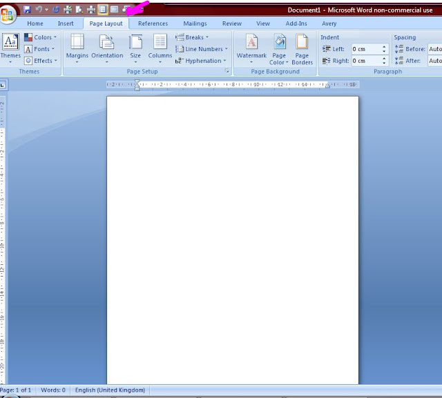 How To Print Directly Onto Your Card Blank Using Word (A5 Card)  Microsoft Word Greeting Card Template Blank