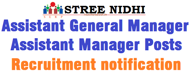 Streenidhi,AGMs,Assistant Manager Posts,Recruitment