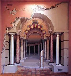 Mural para decoración en exterior o interior