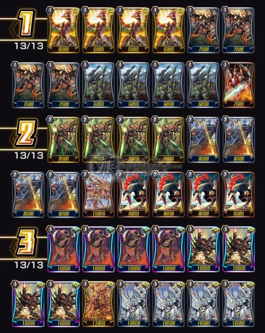 Vanguard ZERO: Tachikaze Raptor Deck Build and Guide