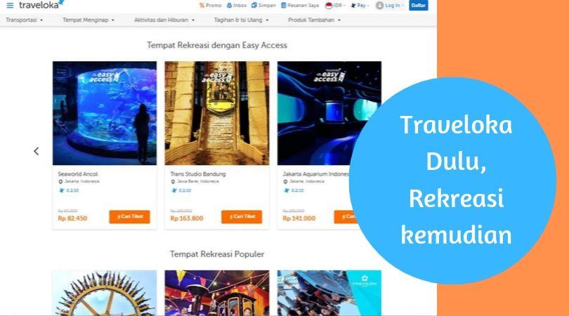 Layanan Traveloka Experience