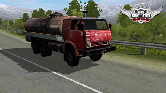 Mod Truck Tangki Tua Jadul Karatan