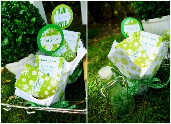 Green Garden Party with FREE Printables - BirdsParty.com