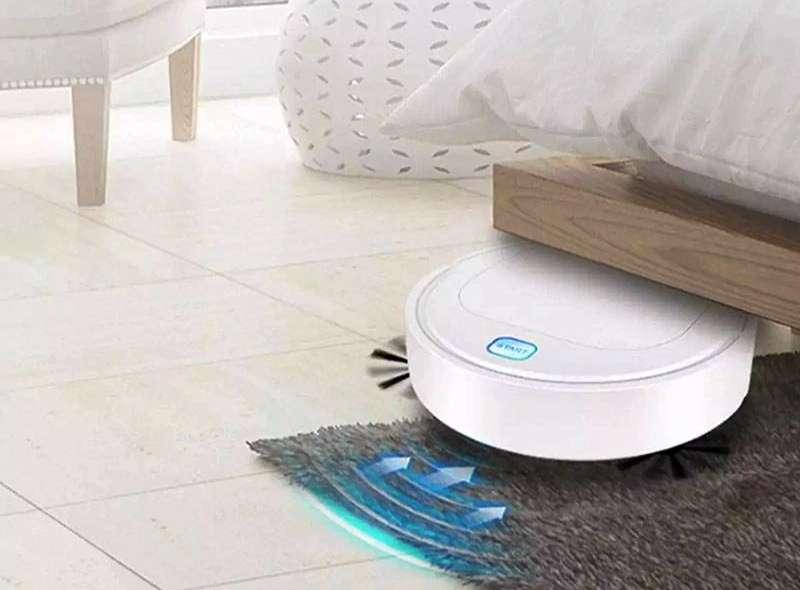 OEM 3 in 1 Robot Vacuum Cleaner Otomatis (blibli.com)