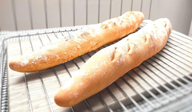 BARRA de PAN CASERO🥖🥖  (en 90 minutos) 🥖🥖  francés, SIN MASA MADRE
