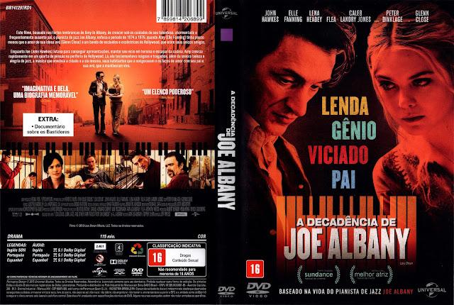 Capa DVD A Decadência de Joe Albany