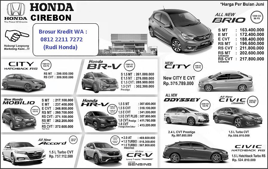 Harga honda brv balikpapan dan simulasi kredit mobil dengan promo cicilan atau. Harga Honda Mobilio Cirebon 2021 - Promo DP Ringan dan Diskon Harga Brio BRV HRV Civic CRV ...