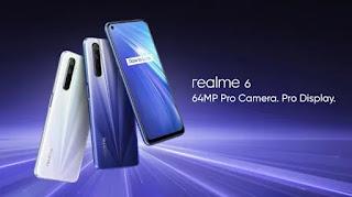 Seri Realme 6 diluncurkan di Eropa pada 24 Maret
