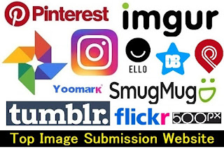 Top 5 Best Image Submission Sites List