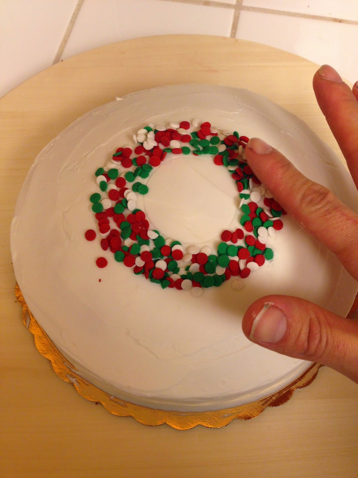 Cute Amp Easy Christmas Cake