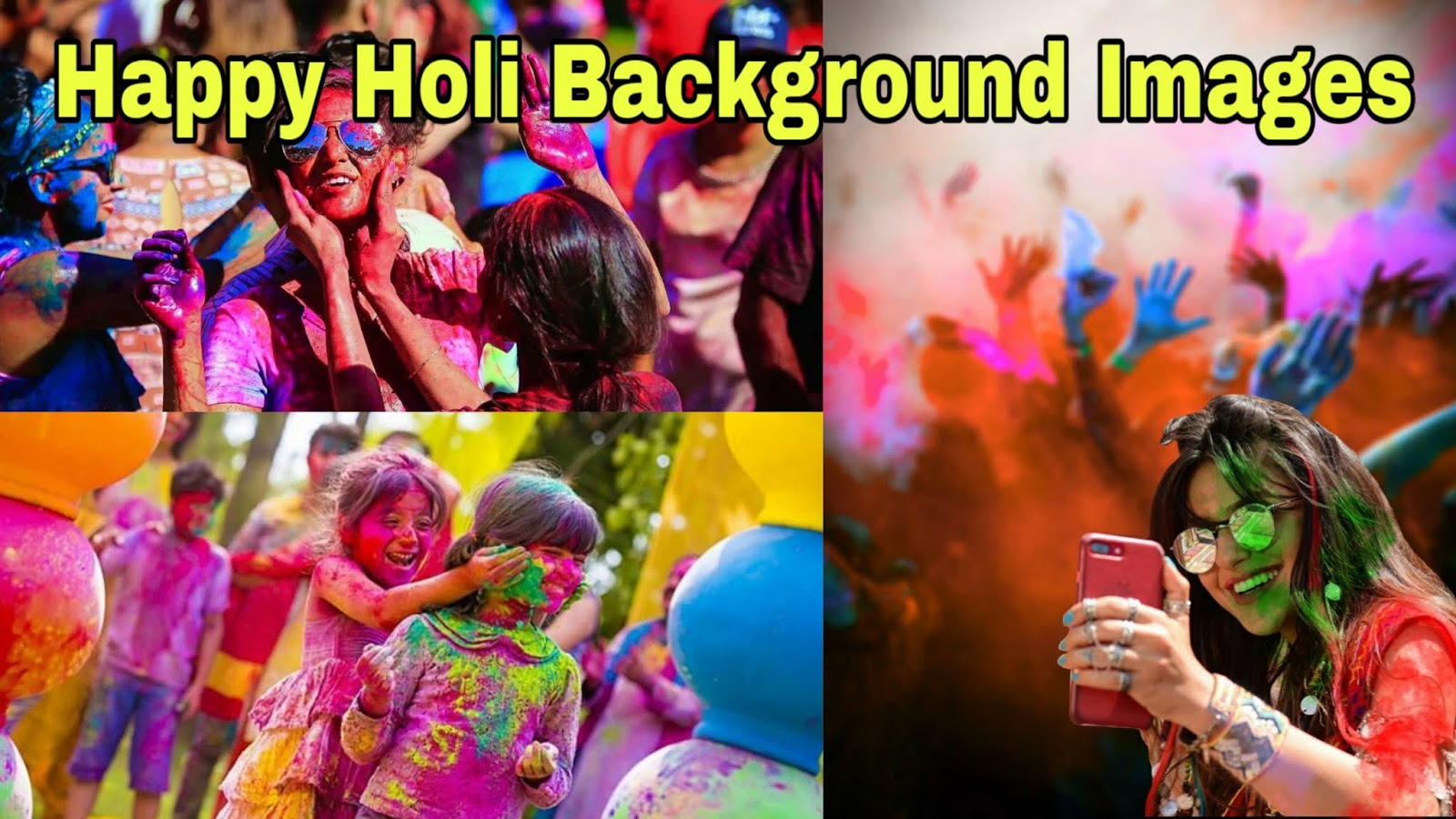 100+ Happy Holi Images Hd Background For Editing | Holi Background Images 2020