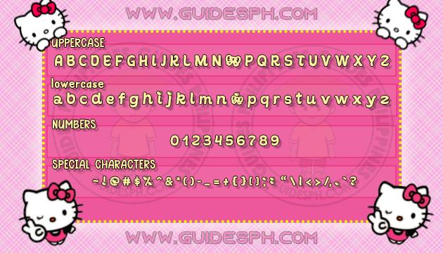Mobile Font: Sunshie Font TTF, ITZ and APK Format