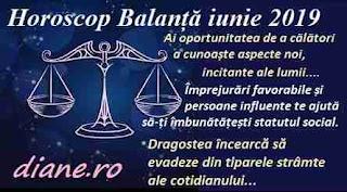 Horoscop iunie 2019 Balanță