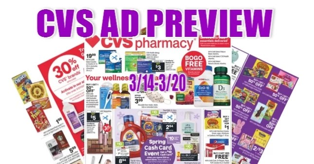 CVS Ad Scan 3/14 to 3/20