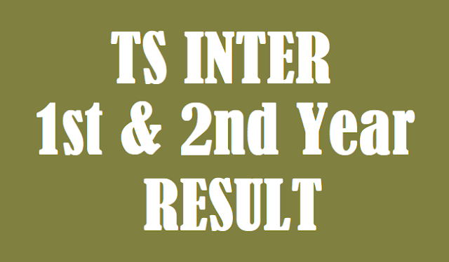 TS Result, TS Inter Results, TS Inter 1st year results, TS Inter 2nd Year Results, Inter Results, www.bie.telangana.gov.in, www.results.cgg.gov.in