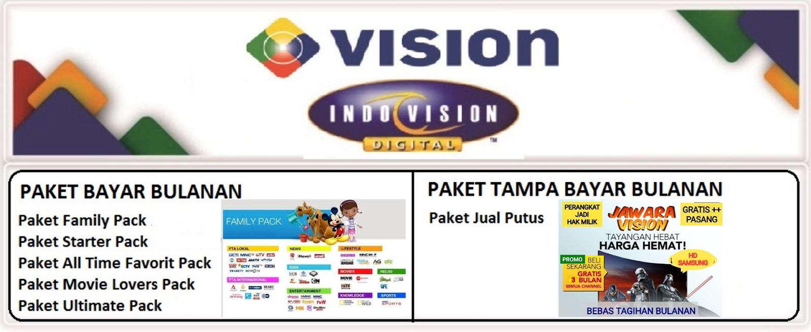Paket Indovision 2021 Tampa Bayar Bulanan September 2021 Mnc Vision Indovision