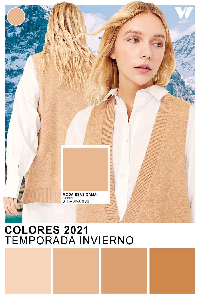 Moda colores 2021 en ropa de mujer