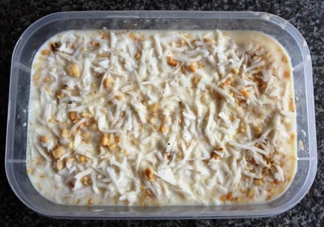 cách làm kem chuối đậu phộng tại nhà