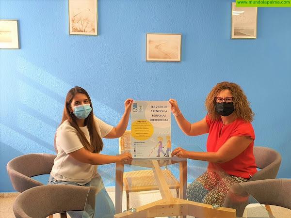 El Cabildo dará apoyo especializado a las personas sordociegas de La Palma a través de ASOCIDE Canarias