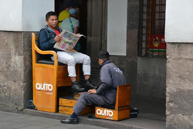 Main Square Quito shoes