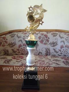 Harga Trophy piala marmer Koleksi 6 tunggal