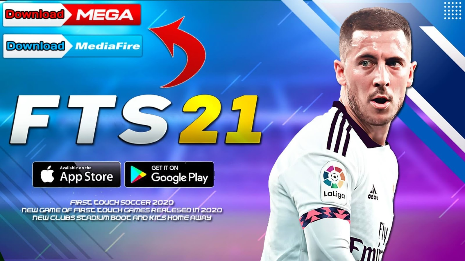 FTS 21 Android 300 MB Offline | First Touch Soccer 2021