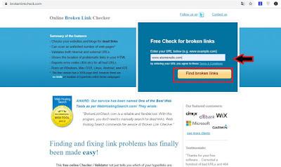 Cara Cek Semua Link Mati di Blog Dalam Satu Langkah Serta Memperbaikinya