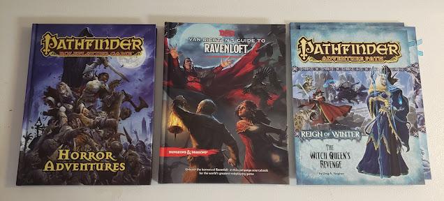 Building a Pathfinder / Ravenloft Domain