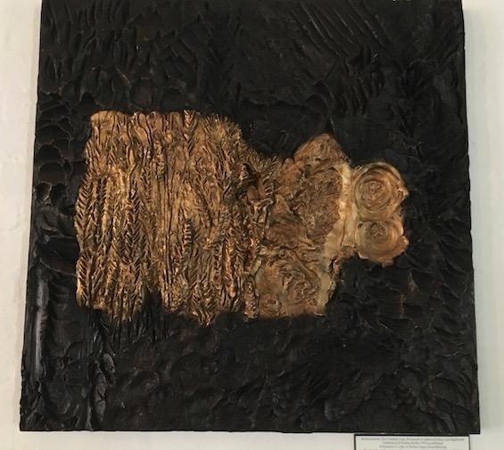 Maja Lisa Engelhardt: Den ottende dag. Bronzerelief 80 x 80 cm