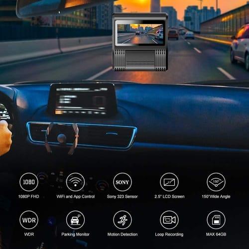 Review WOLFBOX FHD Mini Dash Cam for Car