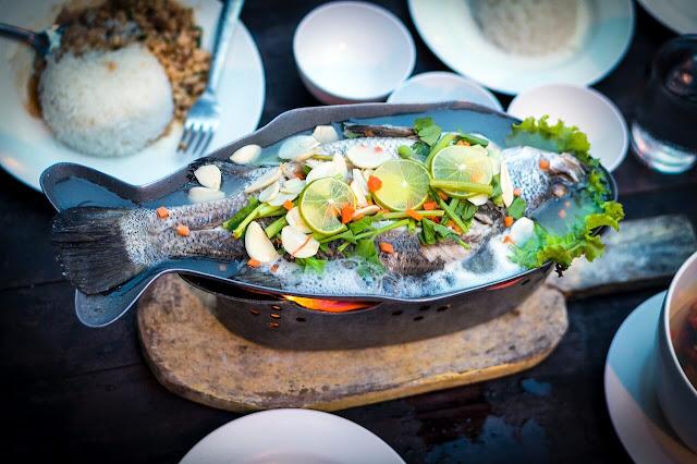 frutos do mar comidas com gin