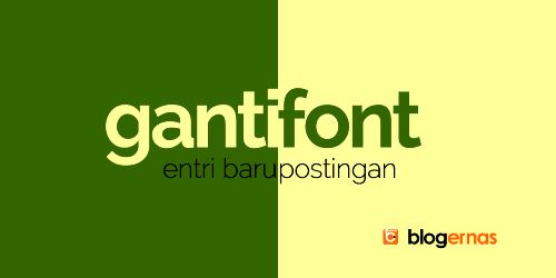 Cara Mengganti Font pada Entri Baru Postingan Blog