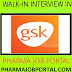 GSK Pharmaceutical Walk In Interview B.Pharm, M.Pharm, B.Sc, M.Sc - Apply Now