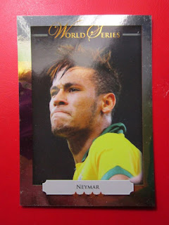 Futera series 4 printed football cards soccer limited edition world cup series Olympics gold winners Neymar Thiago Silva Pele Roberto Carlos penalties