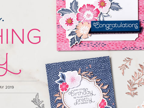 Stampin'Up! Everything is Rosy