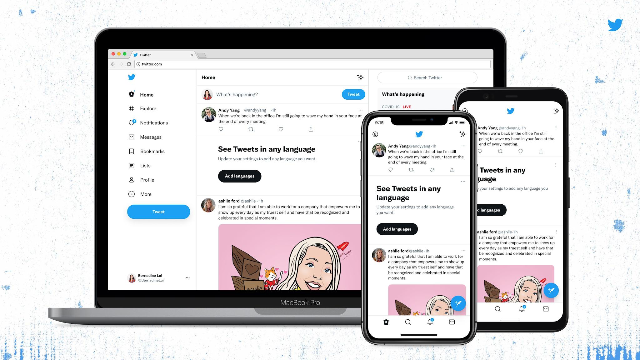 Twitter aggiorna l'interfaccia cambiando font e altro