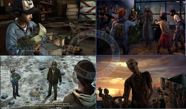 Game The walking dead Season 3 mod Episodes v1.03 Apk data Obb