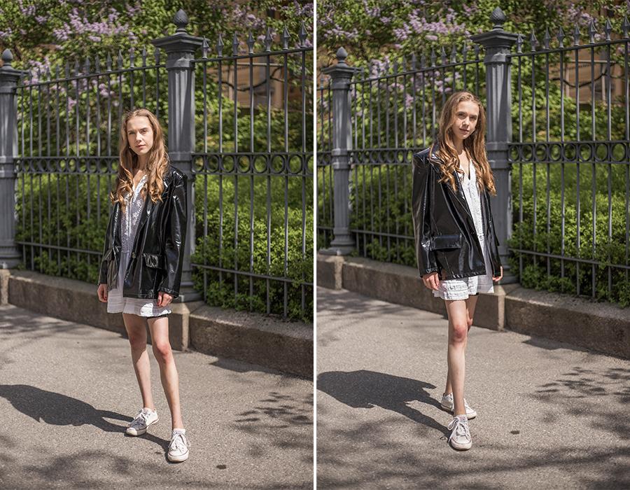 Mustavalkoinen pukeutuminen kesällä // Black and white outfit for summer