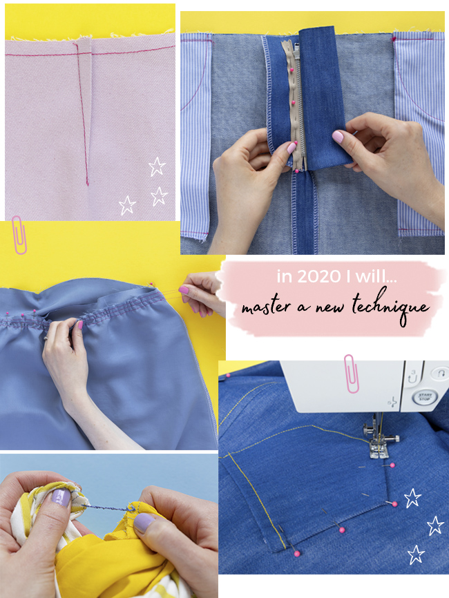 Five sewing resolutions for 2020
