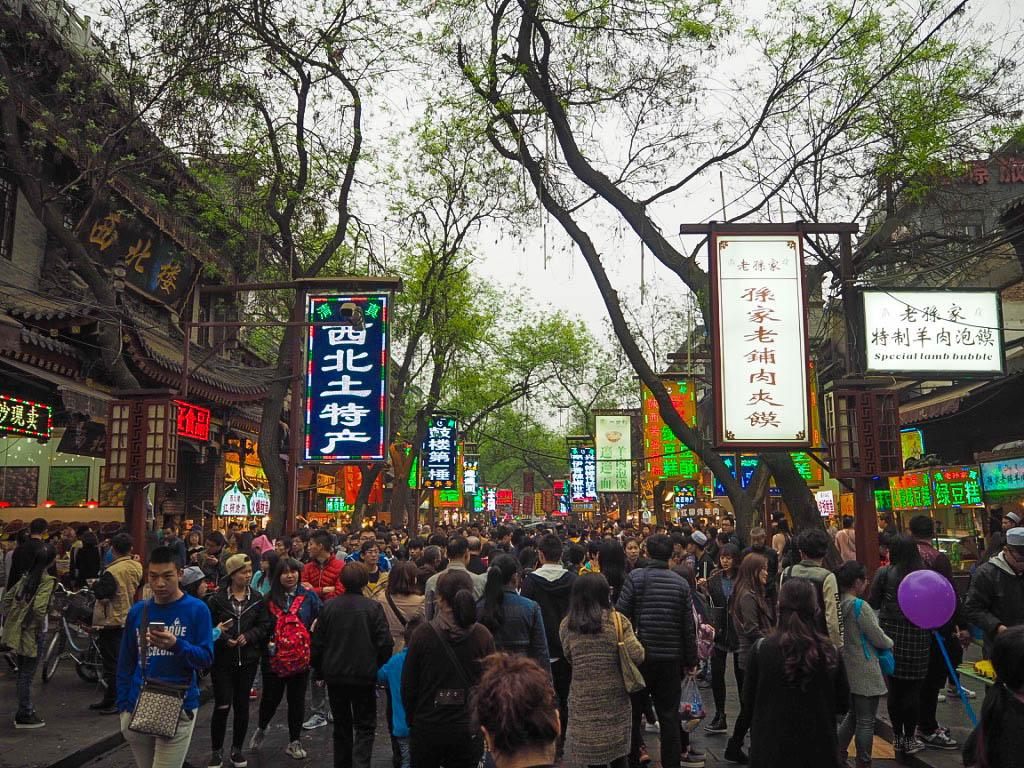 Muslim Market in Xi'an