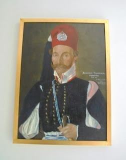 το έργο Δημήτριος Τσιγγουράκος του Σωτήρη Καρτέσιου στο Μουσείο Μπενάκη