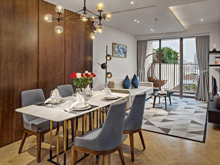 Mô phỏng nội thất của căn hộ WynDhan Soleil