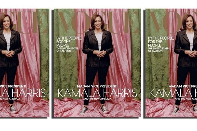 Kamala Harris' Vogue Cover Creates Controversy