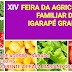 Prefeitura de Igarapé Grande através da Secretaria de Agricultura realizará a XIV Feira da Agricultura Familiar