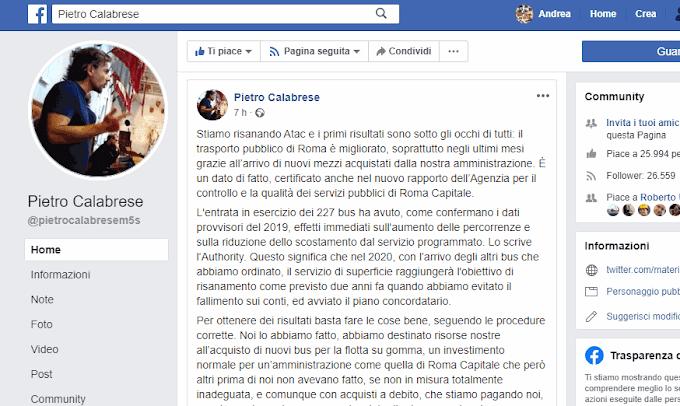Appunti sulle dichiarazioni di Calabrese