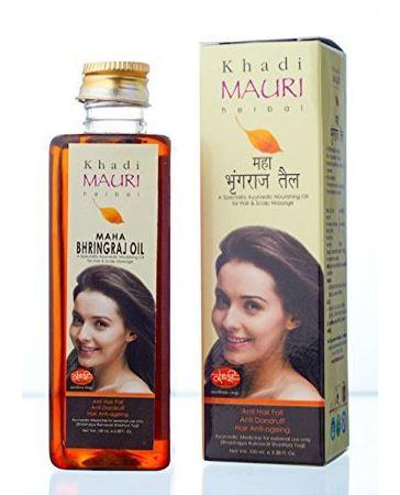 Khadi Mauri Maha Bhringraj Hair Oil