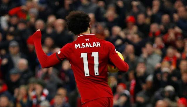 Menang Atas Crystal Palace, Liverpool Makin Mantap di Puncak Klasemen